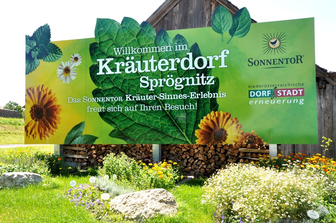 Herzlich Wilkommen im Kräuterdorf Sprögnitz in Österreich